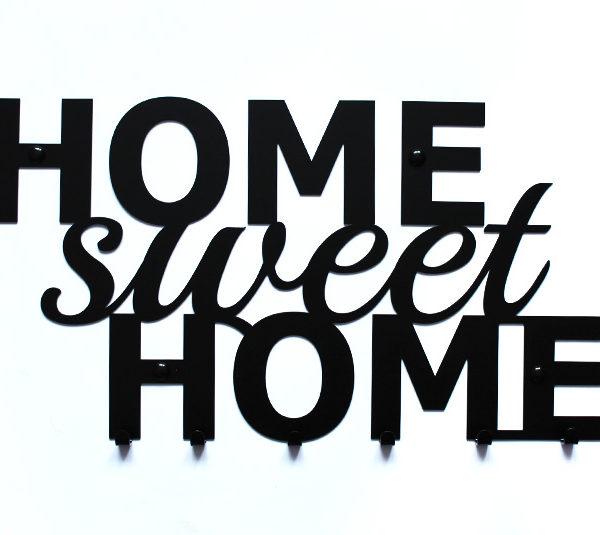 Wieszak na ubrania home sweet home w136 Home ubrania