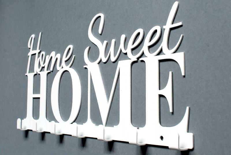 Wieszak na ubrania Home Sweet Home wieszaki do domu na przedpokój