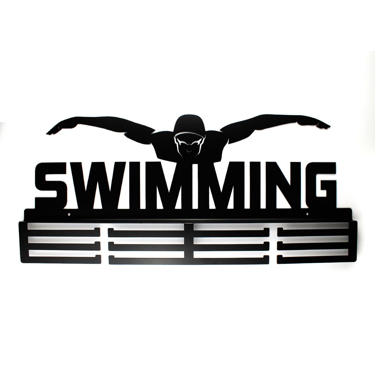 W Mega Wieszaki na Medale dla Pływaka Swimming, Medalówki, Wyeksponuje BB48